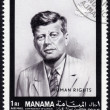 Stock Photo: Postage stamp showing John F. Kennedy