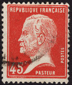Louis Pasteur postage stamp France — Stock Photo