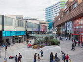 The modern city centre of Almere, The Netherlands — Foto de Stock