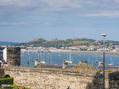 View from Conwy Castle, Wales — Stock Photo