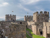 View on Conwy Castle, Wales — Stock Photo