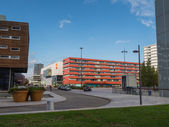 The modern city centre of Almere, The Netherlands — Stock Photo