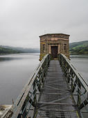 Elan Valley reservoir — Stock Photo
