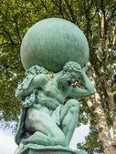 Pomnik upamiętniający hercules — Zdjęcie stockowe
