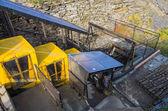 La pizarra de minas en las montañas de snowdonia, gales — Foto de Stock