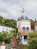 Italian inspired ornate buildings in Portmeirion — Stock Photo