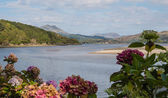 Vista on Welsh coast — Stock Photo