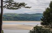 Vista en galés costa — Foto de Stock