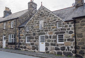 Typical Welsh house — Stock Photo
