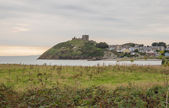 Criccieth Castle in North Wales — Stock Photo