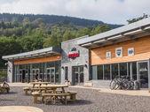 Exterior of Mountain Bike Park Wales — Stock Photo