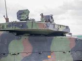Dutch military vehicle — Stock Photo