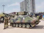 Dutch military tank — Stock Photo
