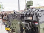Dutch military tank — Stock Photo