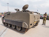 Military armored vehicle — Stock Photo