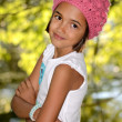 Stock Photo: Beautiful Little Latino Girl