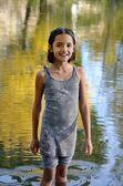Cute Little Hispanic Girl — Stock Photo