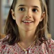 Portrait of Pretty Little Hispanic Girl - Foto Stock