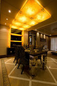 Trendy dining room — ストック写真