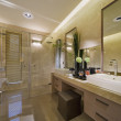Luxury Bathroom - Foto Stock