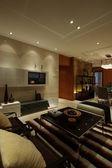 современной гостиной — Стоковое фото