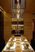 Sala de jantar elegante — Foto Stock
