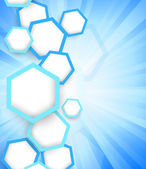 Background with hexagons — Stock Photo