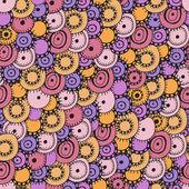 无缝彩色抽象图案 — 图库矢量图片