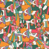 Bezešvé barva pozadí abstraktní — Stock vektor