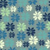 Bezešvé pozadí s malými květy — Stock vektor