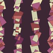 Bezešvé pattern prvků na tmavém pozadí — Stock vektor