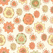 Seamless pattern with flowers — Stock Vector #24854857