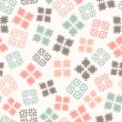 Royalty-Free Stock Vector Image: Seamless design with patterned elements