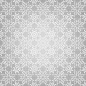Abstrakte Muster mit Schneeflocken — Stockvektor