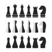 Set of chess — Vector de stock