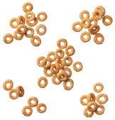 Cereal cheerios isolado no fundo branco — Foto Stock