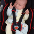 Baby In Car Seat — Stock Photo #19534379
