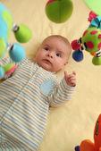 Excited Baby — Stock Photo