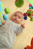 Excited Baby — Stock Photo