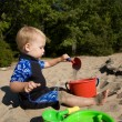 Toddler at Beach — Stock Photo #20144345
