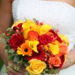 Bride's bouquet — Stock Photo #20144953