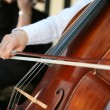Playing cello, hand close up — Stock Photo #21979601