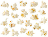 Popcorn isolated on white background — Stock Photo