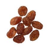 Raisins isolated on white background, close up — Stock Photo