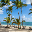 Luxury resort beach in Punta Cana, Dominican Republic — Stock Photo #45583299