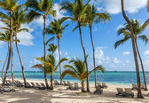 Luxury resort beach in Punta Cana, Dominican Republic — Stock Photo