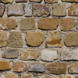 Primitive ancient masonry wall — Stock Photo