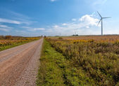Long Road to Sustainable Energy — Stock Photo