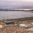 Vancouver Skyline From Jericho Beach — Stock Photo