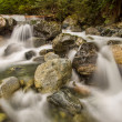 Постер, плакат: Mini Waterfalls Over Rocks